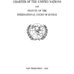 Charte des Nations unies, San Francisco, 1945, p. 1. Source : ONU.