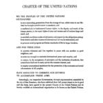 Charte des Nations unies, San Francisco, 1945, p. 2. Source : ONU.