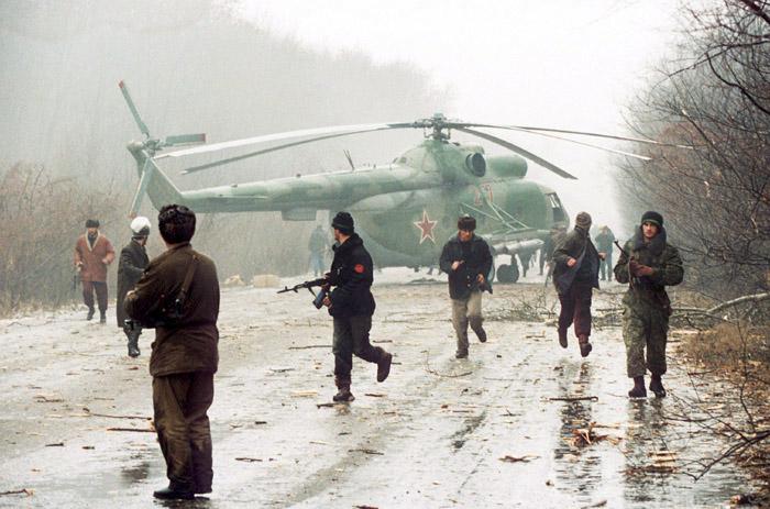 Première guerre de Tchétchénie (1994-1996)