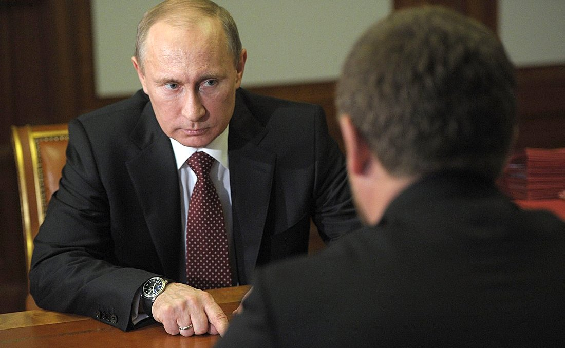 Poutine rencontre Kadyrov. Source: Kremlin.